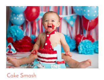 Dallas Cake Smash Photographer